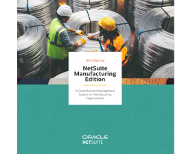 NetSuite Manufacturing Edition
